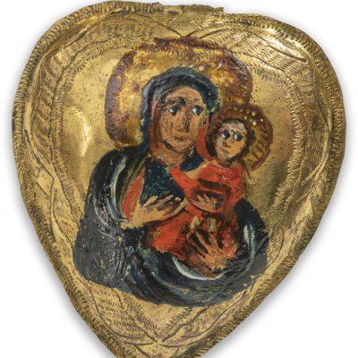 Ryngraf z wizerunkiem Matki Boskiej